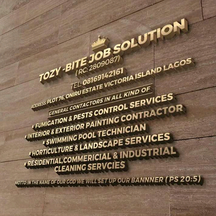 Tozy bite job solution provider