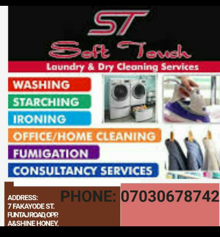 Soft Touch Laundry and Dry Cleaning Services provider
