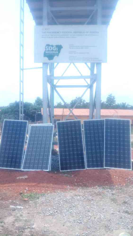 Installation of solar inverter system