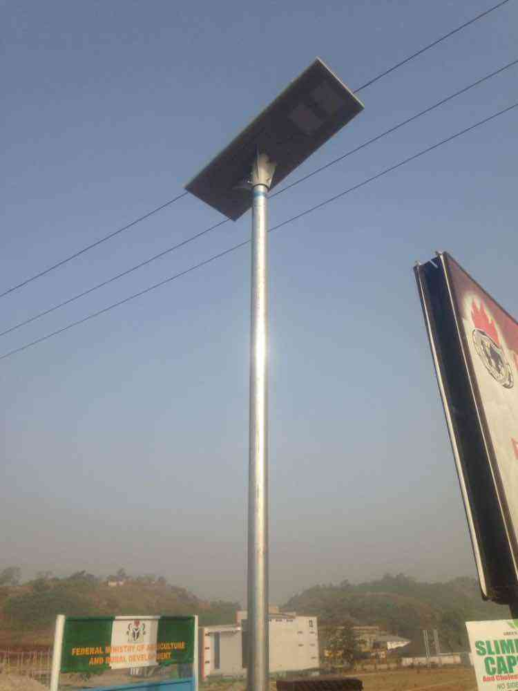 All in one 60w solar street light img
