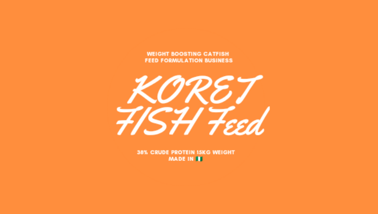 KORET Catfish Feed Production Business picture