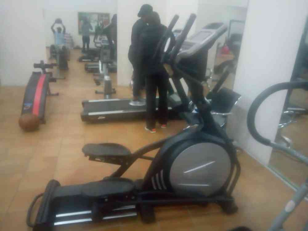 President Muhammad buhari (PMB) Fitness center picture