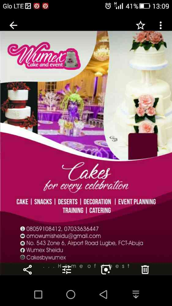 wumex cakes n events picture