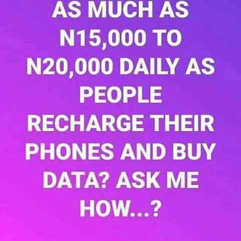 Recharge nd get paid