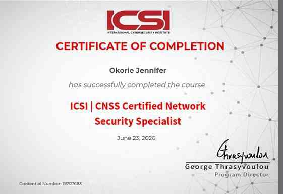 Network Security specialist picture