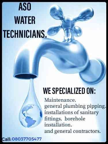 Aso water technicians