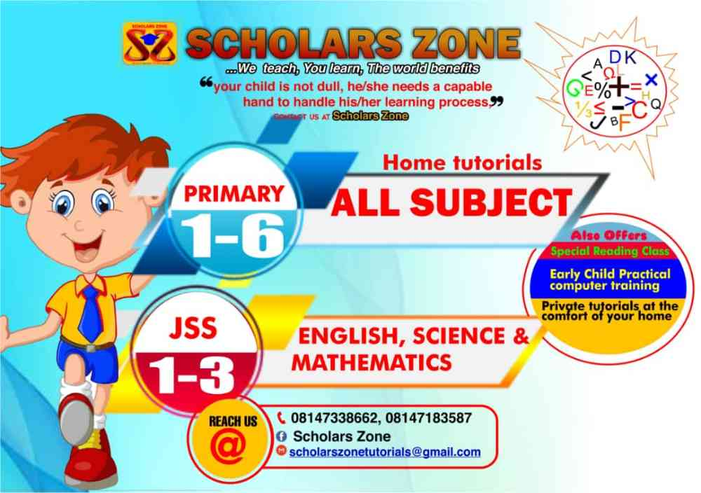 SCHOLARS ZONE TUTORIAL picture