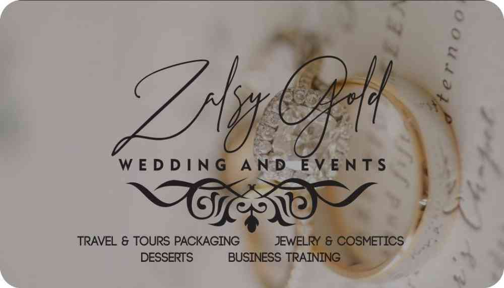 Zalsy Gold Wedding and Events