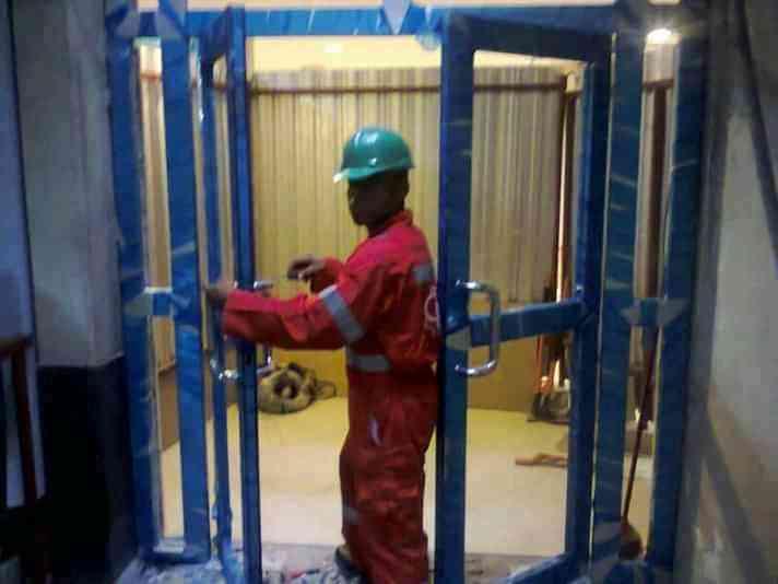 Okereke Aluminium work