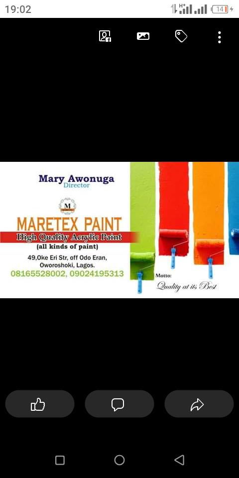 Maretex paint