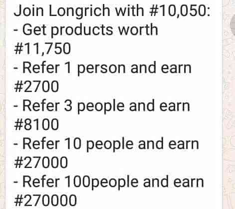 Longrich networking marketing business
