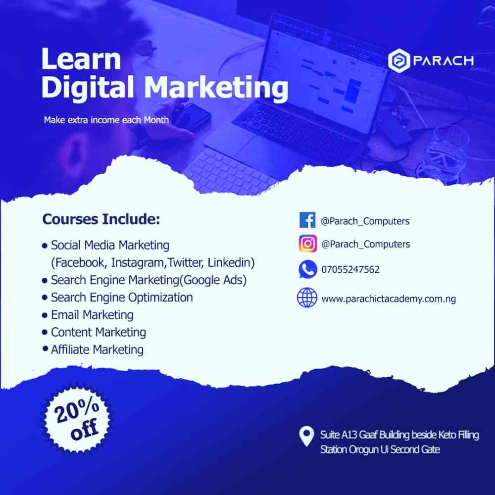 Digital Marketing Training in Ibadan picture