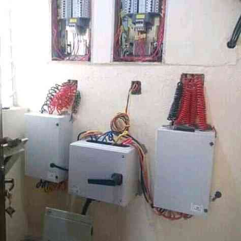 God's plan electrical work. picture