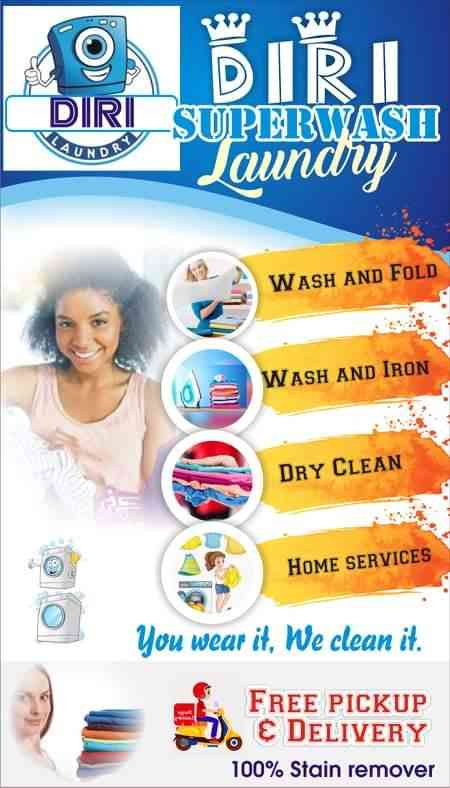 Diri super wash laundry picture