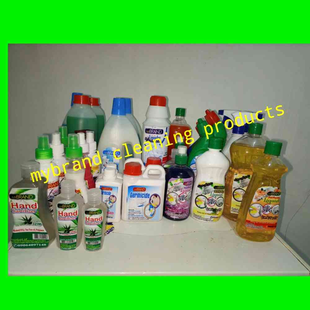 House cleaning products picture