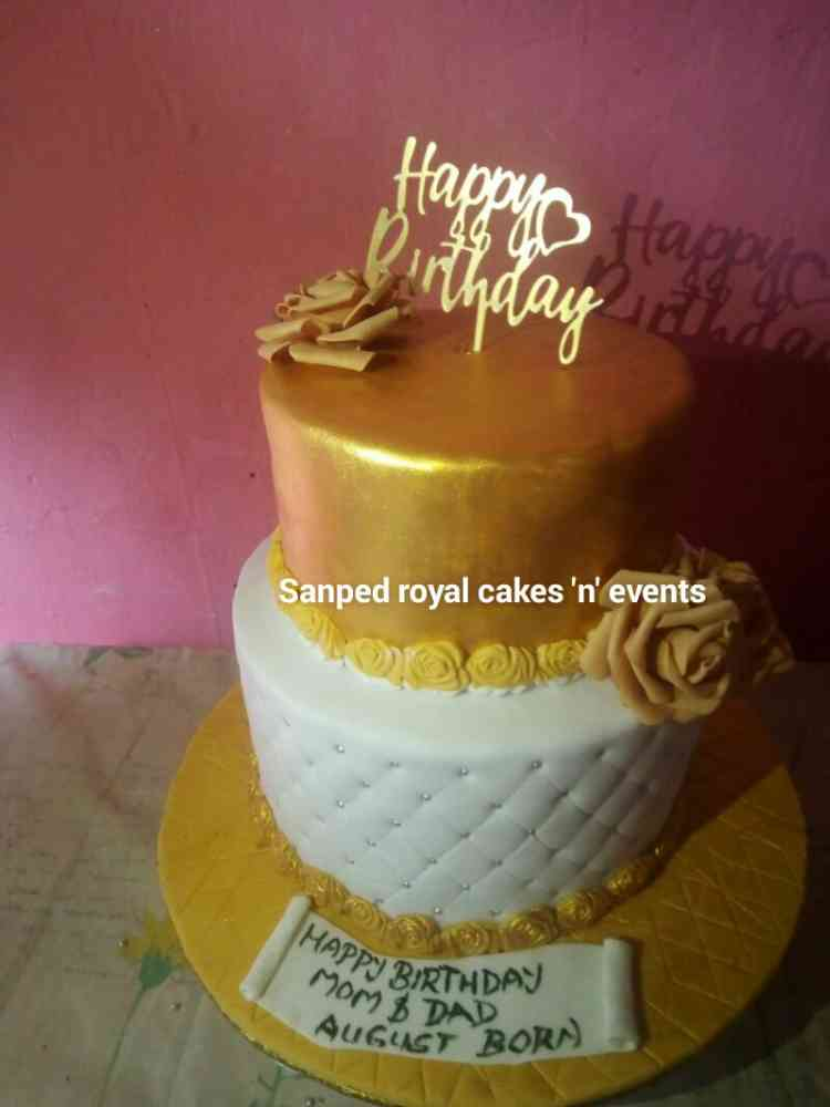Sanped Royal Cakes N Events