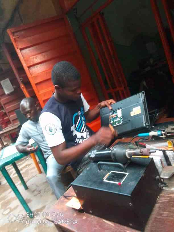 Alade system repairs picture