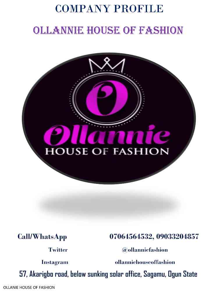 Ollannie house of fashion picture