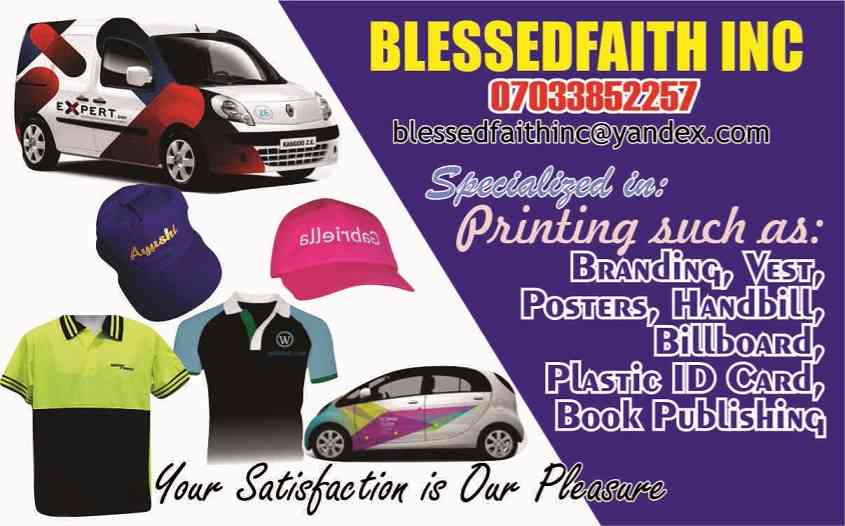 Blessedfaith Inc picture