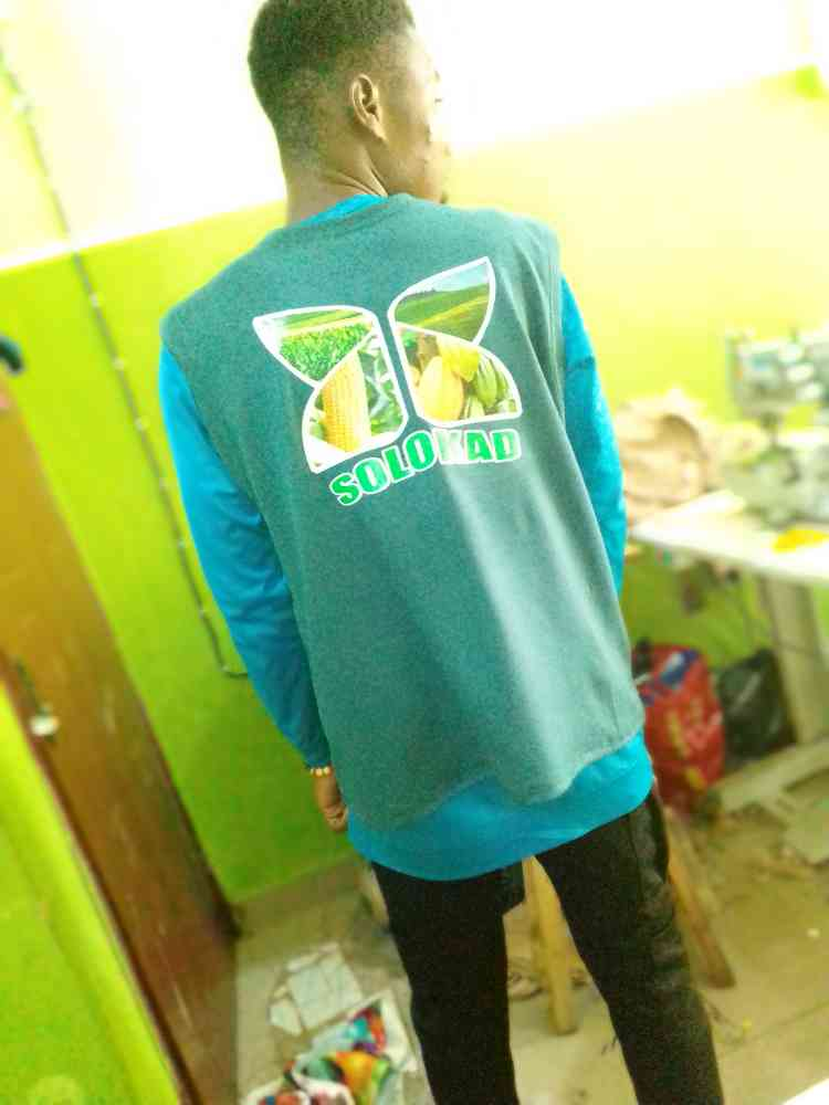 Corporate t shirt and branding