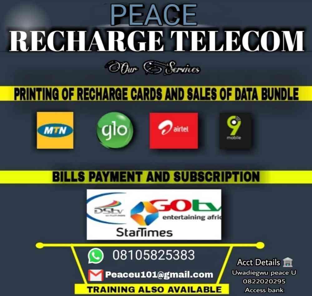 Peace Recharge Telecom