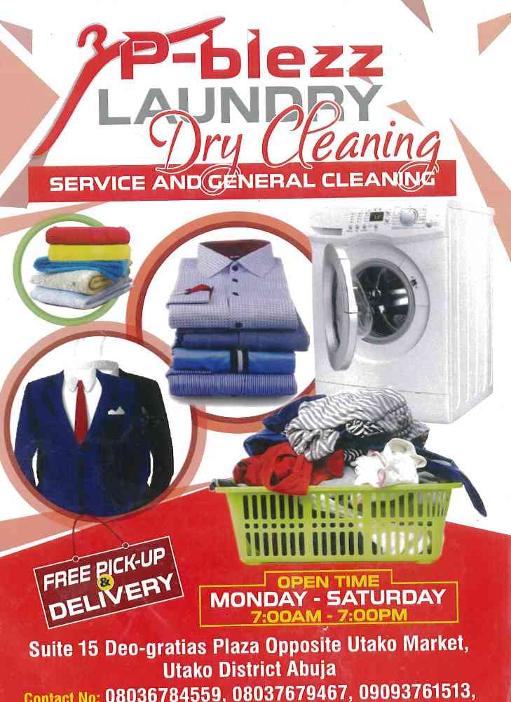 P BLEZZ LAUNDRY AND DRYCLEANING SERVICES picture
