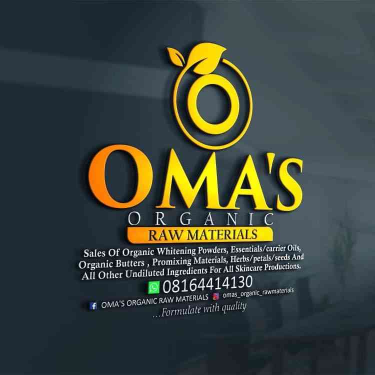 OMA'S Organic Raw Materials