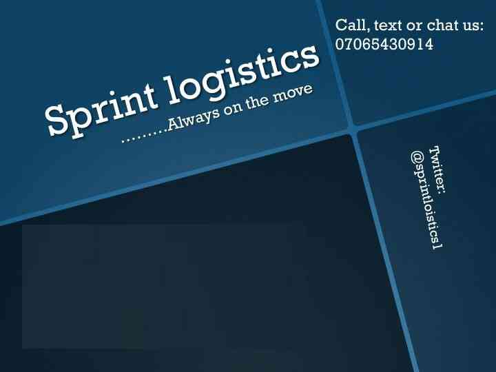 Sprint Logistics and Delivery Service