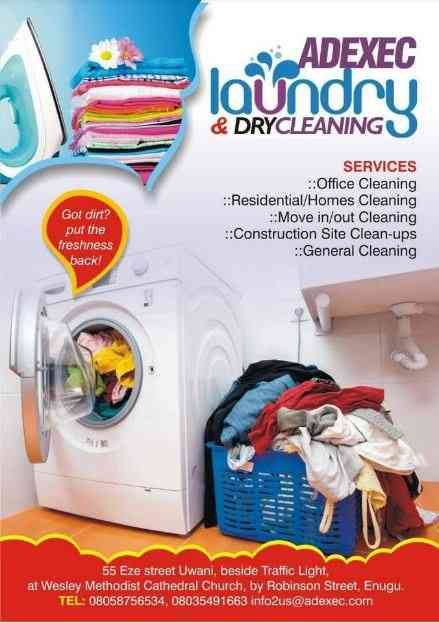 Adexec Laundry and Dry Cleaning Services