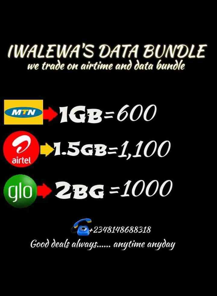 Iwalewa's data bundle