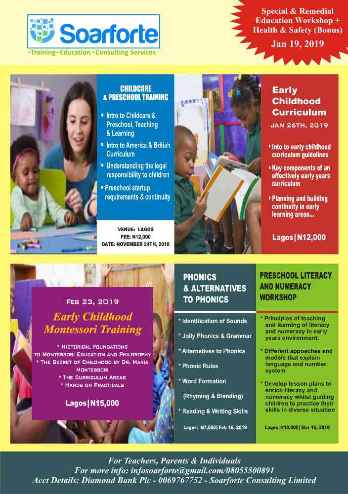 Early Childhood Education Training picture