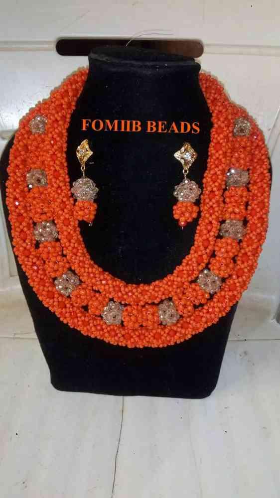 Fomiib beads and gele