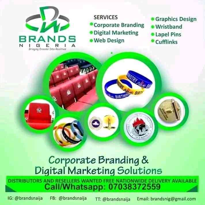Corporate branding and wristbands