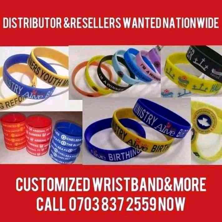Corporate branding and wristbands img