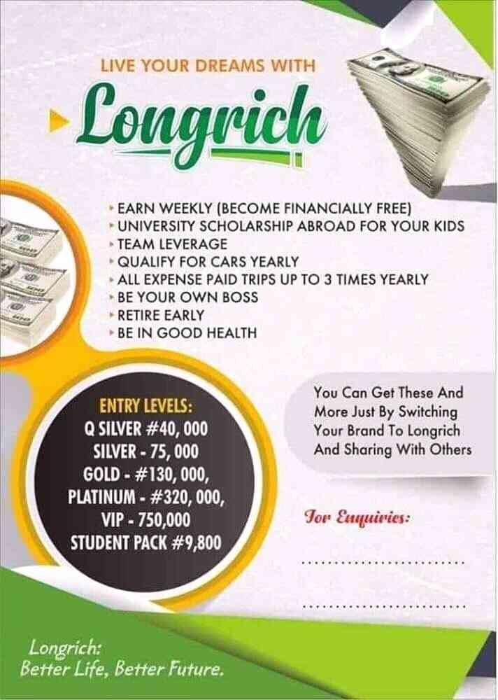 Longrich team temmy picture