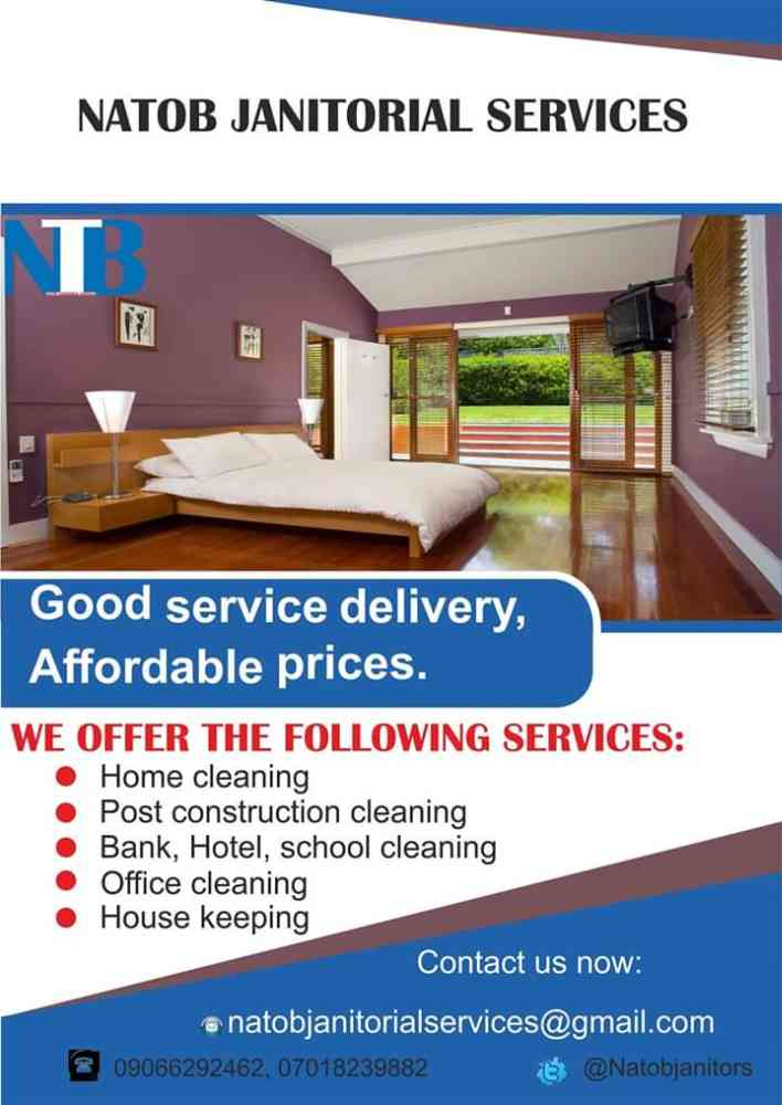 Natob Janitorial Services