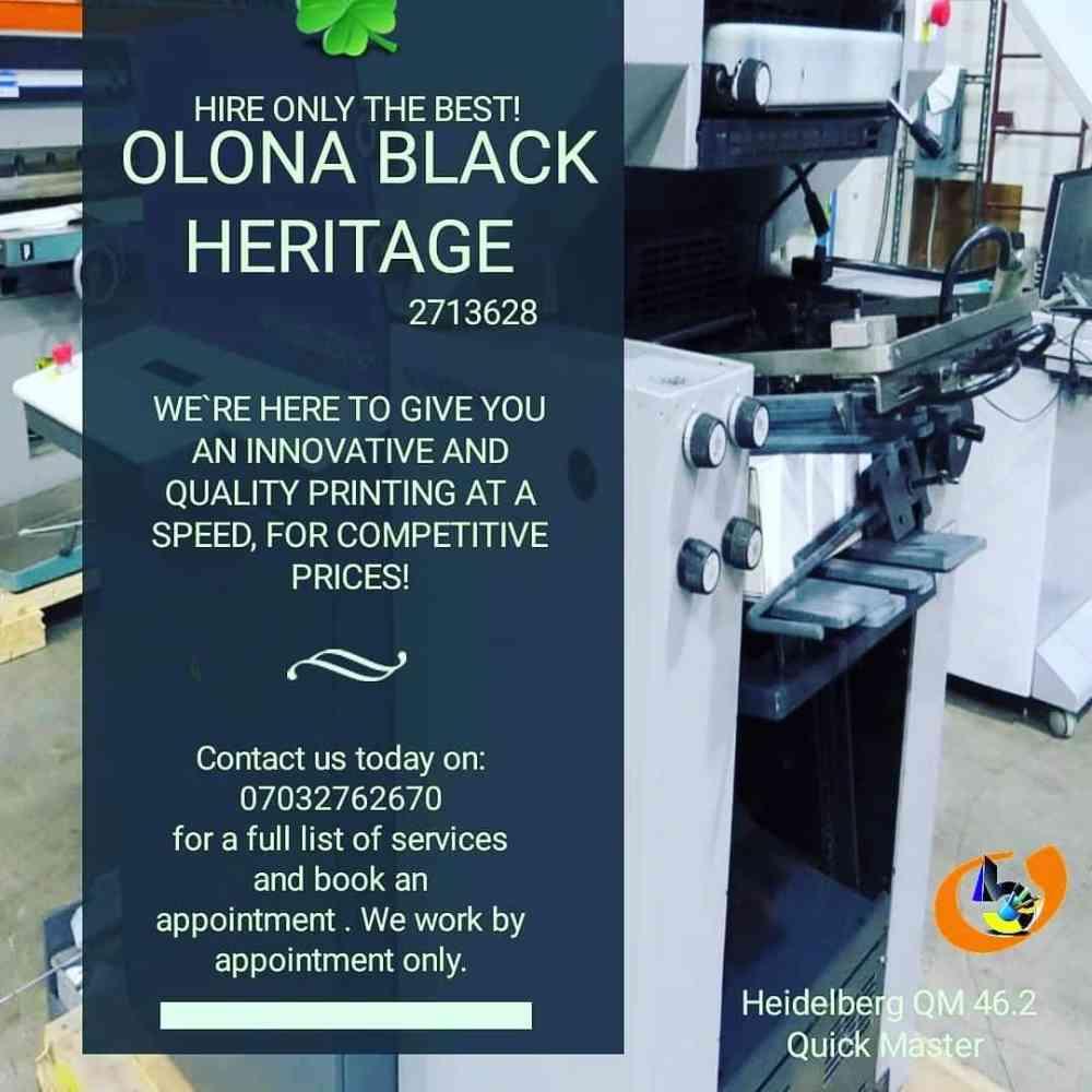 Olona Black Heritage