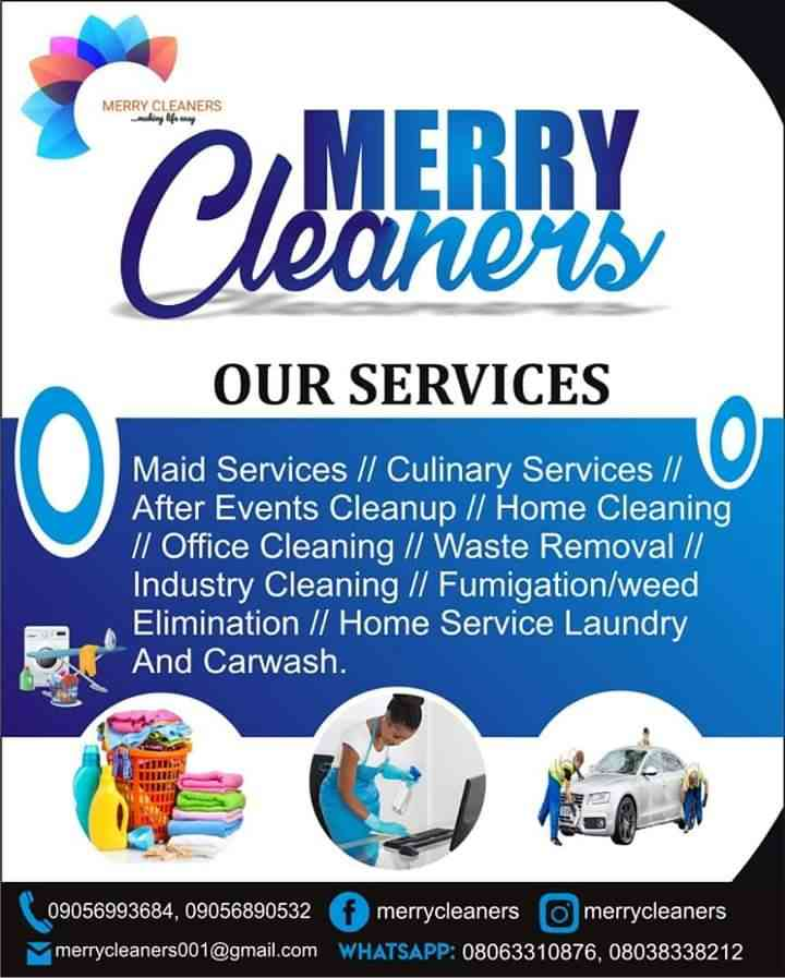 Merry cleaners picture