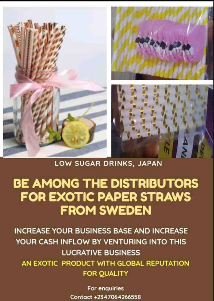 Paper STRAWS from Sweden