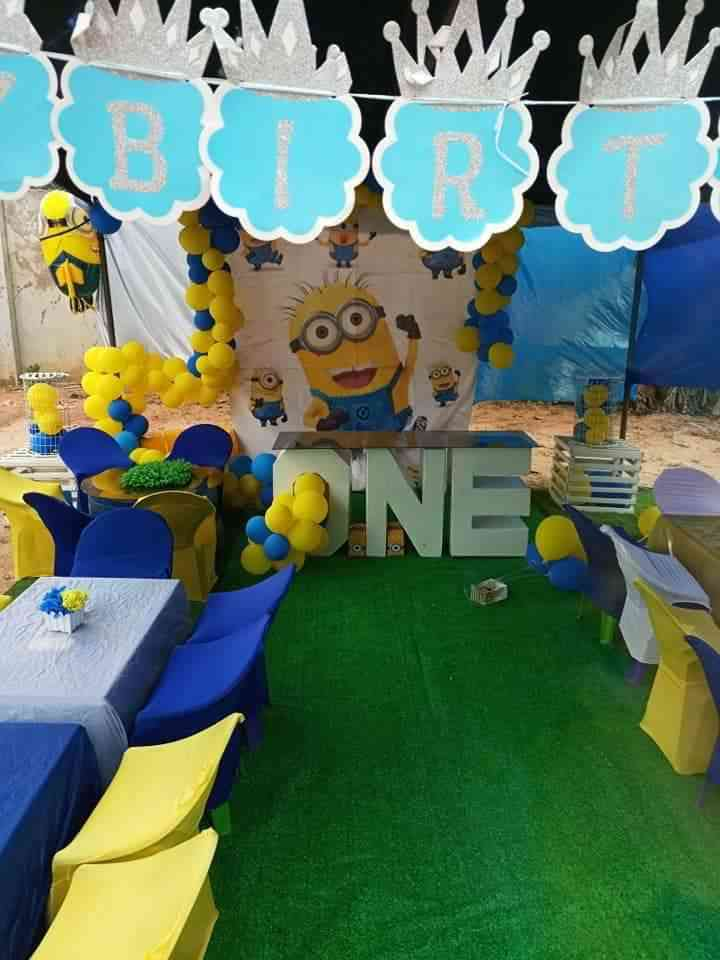 smile kiddies event and decoration picture