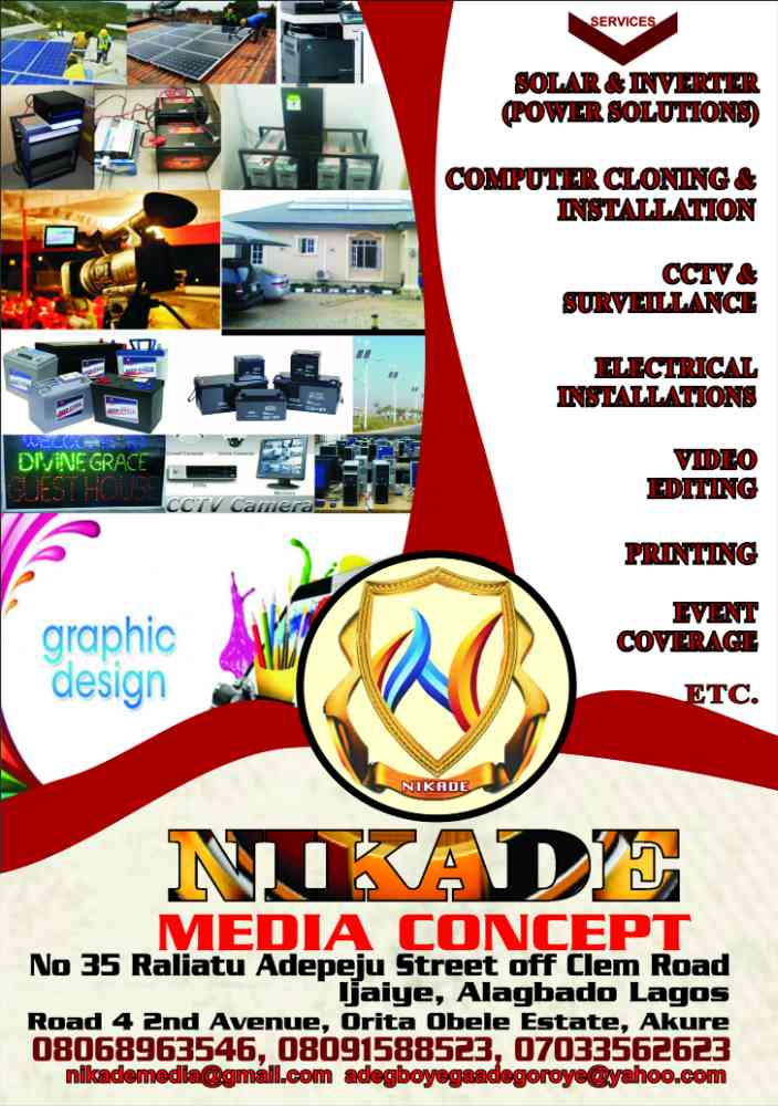 Nikade media concept