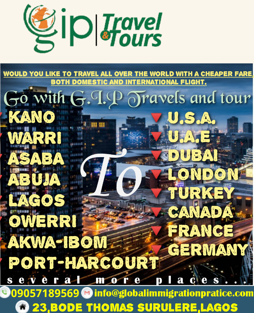 G.i.p travels and tour