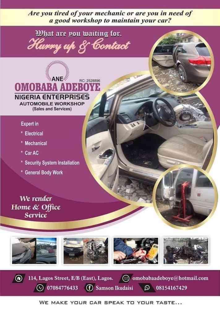 Omobaba Adeboye Enterprises