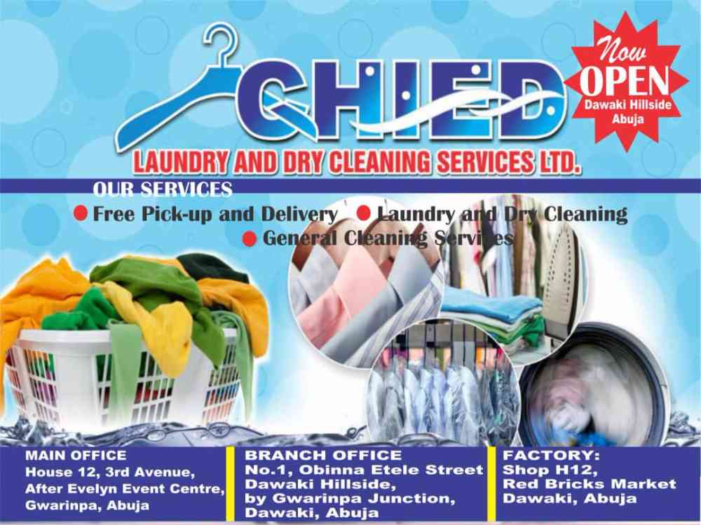 CHIED LAUNDRY AND DRYCLEANING SERVICES LTD picture