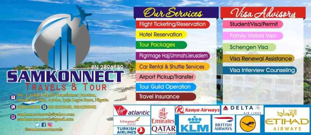SamKonnect Travels & Tour