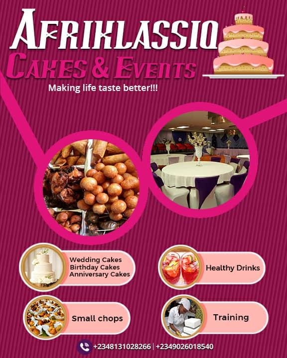 Afriklassiq Cakes N Event