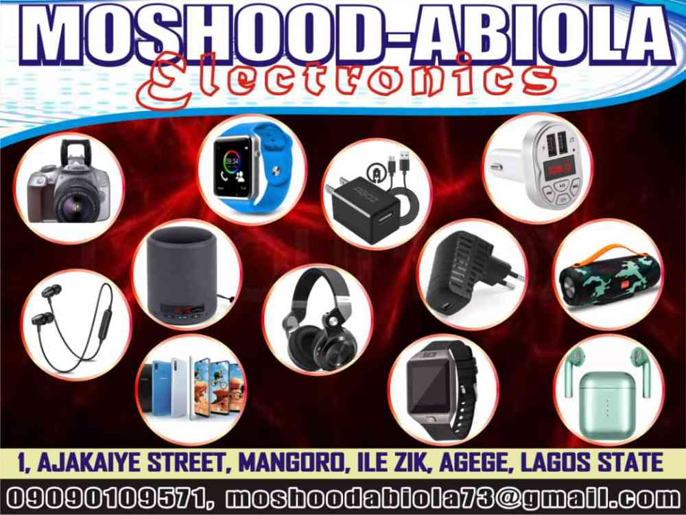 Moshood abiola electronics picture