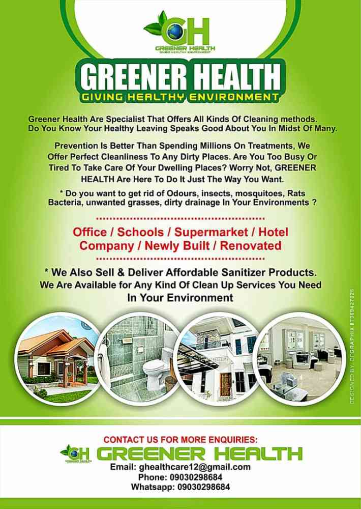 Greener health picture