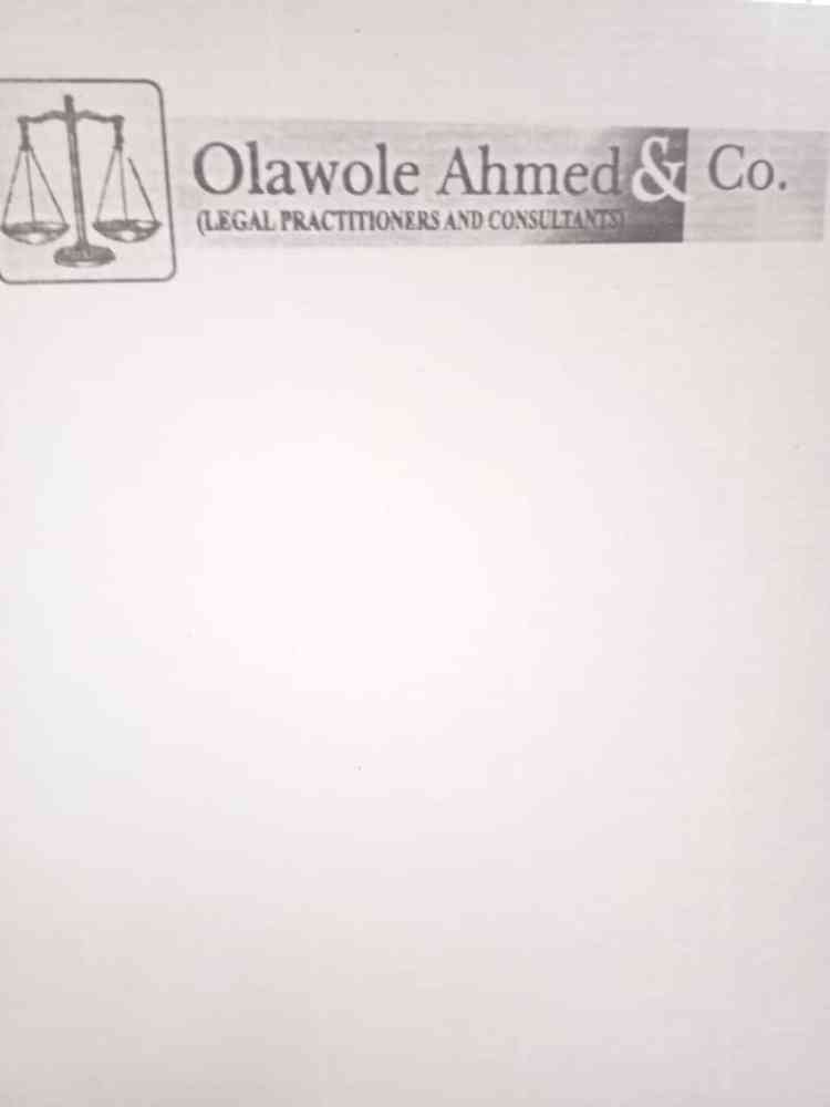 Olawole Ahmed and Co.