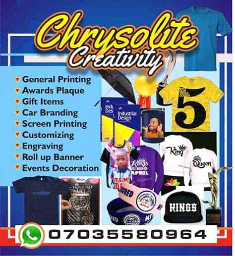 CHRYSOLITE CREATIVITY